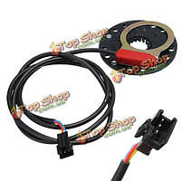 Е-велосипед педали скутер помочь датчик мощности 5 магнитная система па типа диска
