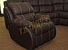 Кожаное кресло с реклайнером REGLAINER (100 см), фото 8