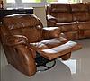 Кожаное кресло с реклайнером REGLAINER (100 см), фото 9