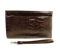 7709aee16511 Клатч мужской кожаный классика clutch коричневый Desisan 1460-19 Турция