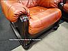 Классическое кожаное кресло ROMA (95 см), фото 3