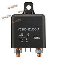 12v 200А сверхмощный разделить заряд переключатель включения/выключения реле автомобиль авто лодки 200Аmp