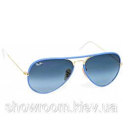 Солнцезащитные очки в стиле Ray Ban 3025jm full color blue