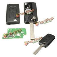 Отдаленный ключевой чип приемоответчика кнопок id46 2 433 МГц для peugeot 207 307 308 407