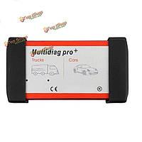 V2014.02 multidiag PRO + для легковых автомобилей/грузовых автомобилей obd2 multidiag PRO сканер интерфейс