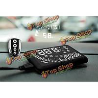 Em05 5.5-дюйма автомобиля HUD головой вверх дисплей с контролем удалить БД интерфейса