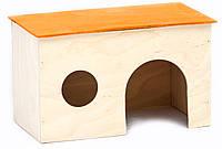 ТМ Амигос Домик для маленьких хомяков и мышей (фанера)