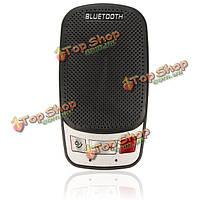 Громкой связи Bluetooth для беспроводной автомобильный комплект динамик телефона солнцезащитный козырек клип портативный тонкий