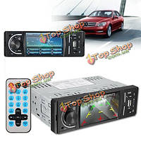 Экран DVD-плеер автомобиля mp5 MP4 Bluetooth громкой связи FM AM радио USB AUX TFT 4.1 дюйм