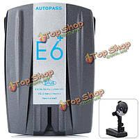 Радарный датчик скорости e6 360 тревог степени для автомобильного автомобиля поддерживает тревоги расстояния и камера