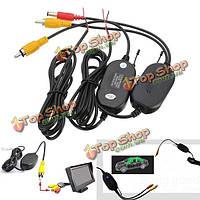 2.4g беспроводной передатчик видео RCA & приемник для резервного копирования камера автомобиля