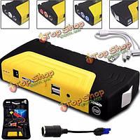68800мАh двойной USB Сос автомобиль прыжок стартера чрезвычайных зарядное устройство бустер банка силы батареи