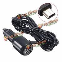 3.4a/5V автомобильное зарядное устройство питания Mini-USB 3.5m кабель для Garmin GPS Nuvi нав ПК планшет