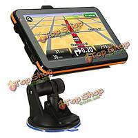 8Гб 5-дюймов TFT сенсорный экран автомобиля Bluetooth  GPS-навигации спутниковой навигации фм обновление бесплатно карту