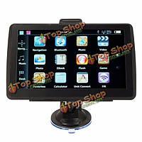 8Гб 7-дюймов TFT сенсорный экран автомобиля GPS навигации спутниковой навигации обновление FM Бесплатная карта с функцией Bluetooth