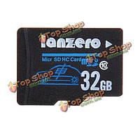 Micro-SD class10 TF карта памяти тахографа камера автомобиля DVR 32Гб lanzero