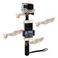 Макс селфи палочка моностручок телефон уловах спорта камера аксессуар алюминий для Xiaomi уг GoPro героя 3 4