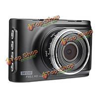 Fh03 Автомобильный видеорегистратор рекордер камера черточки тахограф г-датчик 170° широкий угол 1080p HD