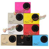 Реальный ультра 4k WiFi sj8000 действия камеры 30m водонепроницаемый 3840 * 2160p 24fps 1080p FHD