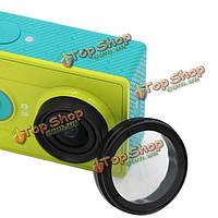 Стеклянная ультрафиолетовая линза защитное прикрытие для xiaomi yi камера действия xiaomi yi аксессуары