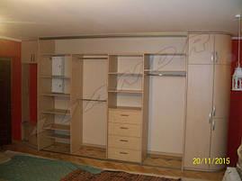 Шкаф-купе в квартиру-студию с УФ-печатью, фото 2