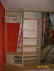 Шкаф-купе в квартиру-студию с УФ-печатью, фото 3