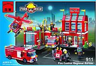Конструктор Brick 911 Пожарная охрана, 980 деталей