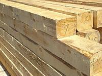 Брус пропитанный деревянный тип2А,тип1А