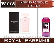 №118Женские парфуми на розлив Royal Parfums Narciso Rodriguez( For her) №118 100мл