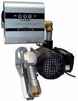Насос со счетчиком для перекачки ДТ DRUM TECH, 220В, 60 л/мин