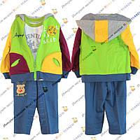 Костюм трикотаж+ джинс для мальчика от 1 до 3 лет