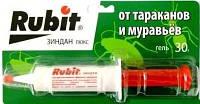Гель Рубит(Rubit) от тараканов и муравьев 30 мл (оригинал)