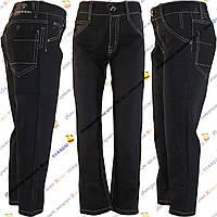 Чёрные джинсы брюки для мальчиков (от 5 до 11 лет) (8-07)