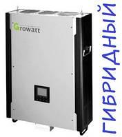 Гибридный солнечный инвертор GROWATT hybrid 3000HY (3 кВт, 1-фазный, 2 МРРТ)