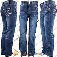 Весенне Осенние джинсы для девочки от 5 до 11 лет (vn2170)