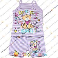Детский костюм шорты и майка (от 4 до 8 лет) (3474-1)