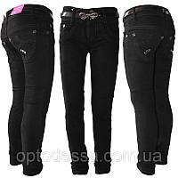 Школьные черные брюки для девочки от 6 до 11 лет (2009)