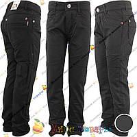 Тёплые котоновые джинсы для мальчика от 6 до 13 лет (wa8302)
