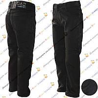Тёплые Атласные брюки для мальчика от 6 до 10 лет (6002)