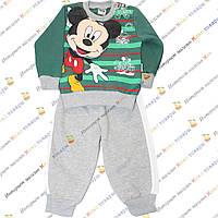 Детский тёплый костюмчик с Мики Маусом Рост:68- 86 см