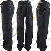 Чёрные джинсы для мальчика от 8 до 13 лет (8-05)