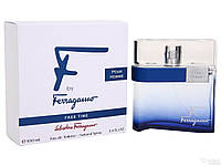 Salvatore Ferragamo F by Ferragamo Pour Homme Free Time туалетная вода 100 ml. (Сальваторе Феррагамо Фри Тайм), фото 1