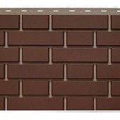 Фасадная панель Кирпич Клинкерный 1,22х0,44 м (коричневый)