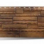 Фасадная панель Камень Скалистый 1,16х0,45 м (тибет)