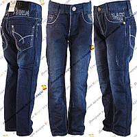 Синие школьные джинсы для мальчика от 6 до 13 лет (w7-05)