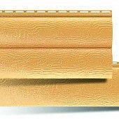 Сайдинг под брус двухпереломный BlockHouse 3,1х0,32 м (золотистый)
