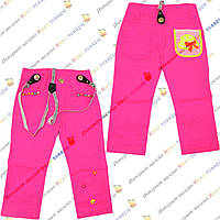 Яркие штанишки на подтяжках для малышей от 1 до 5 лет (4182-2)