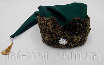 Гетманская шапка с коричневого каракуля