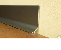 Плинтус алюминиевый Multi Effect 16,8х50х2700 мм (золото)