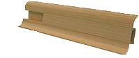 Профиль VIMAR с кабель-каналом матовый 19х55х2500 мм (бук лесной)